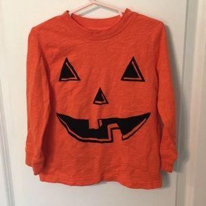 Carters 4t Jack o lantern face Halloween shirt